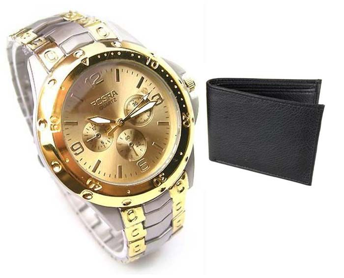 Buy Buy 1 Wrist Watch And Get A Wallet Free Wallwatch26 online