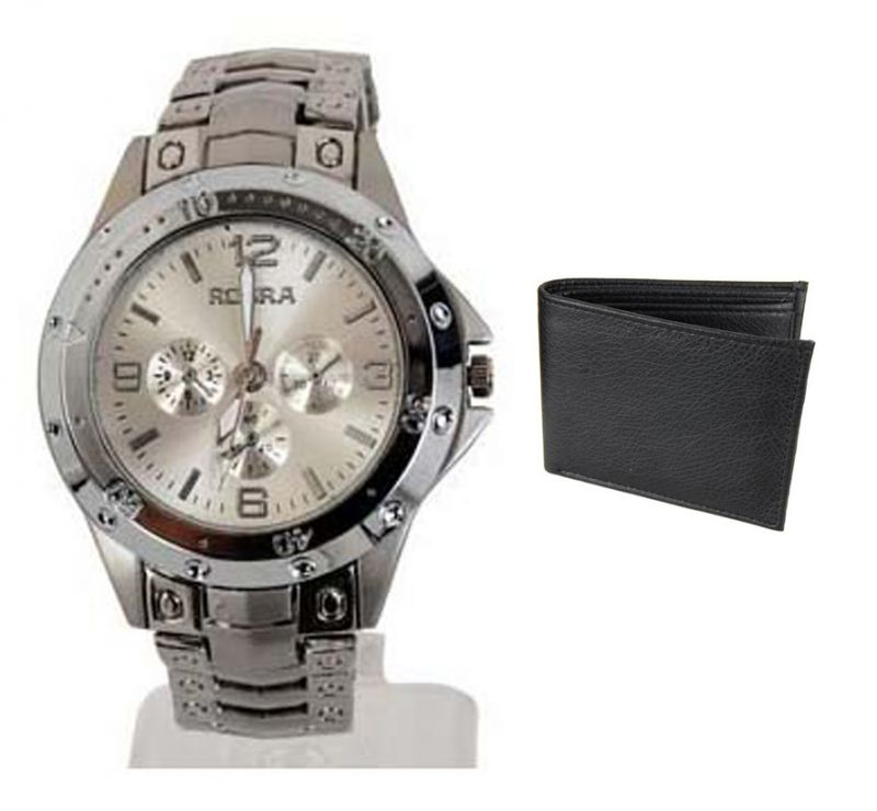 Buy Buy 1 Wrist Watch And Get A Wallet  Free online