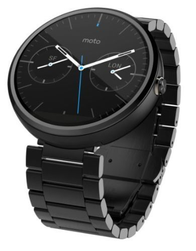 Buy Motorola Moto 360 Smartwatch 1st Gen Metal Strap With Manufacture Warranty online