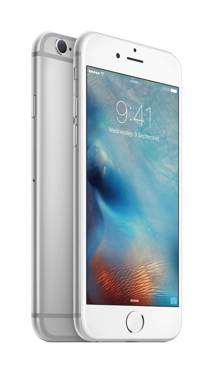 Buy Apple iPhone 6s Plus (silver) With Manufacture Warranty online
