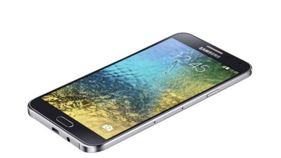 Buy Samsung Galaxy E5 White Mobile Phone online