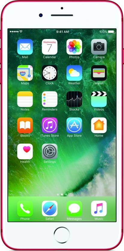 Buy Apple iPhone 7 (red, 128 Gb) Mobile Phone online