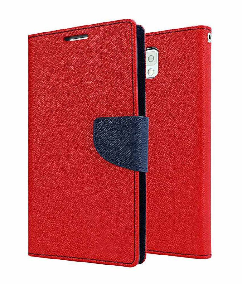 best website 4e0df c0cd4 Flip Cover For Nokia C3 - Red