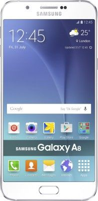 Buy Samsung A8 Mobile Phone( White,32gb) With Manufacturer Warranty online