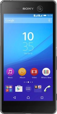 Buy Sony Xperia M5 Mobile Phone (black, 16 Gb) With Manufacturer Warranty online