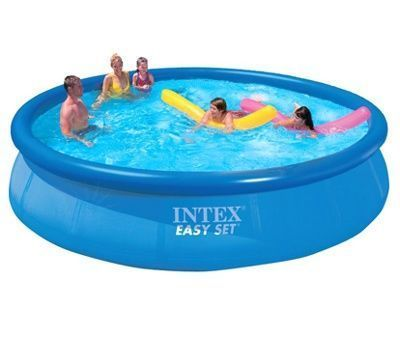 Buy 15 Feet Intex Easy Set Family Swimming Pool Inflatable Kids Above Ground online
