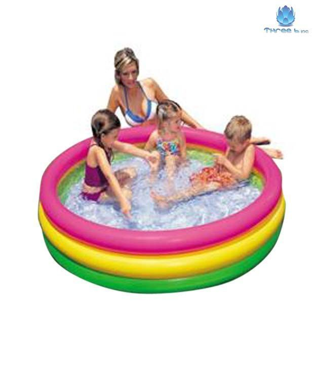 Buy Intex Snap Set Water Swimming Pool For Babies 5 Feet online