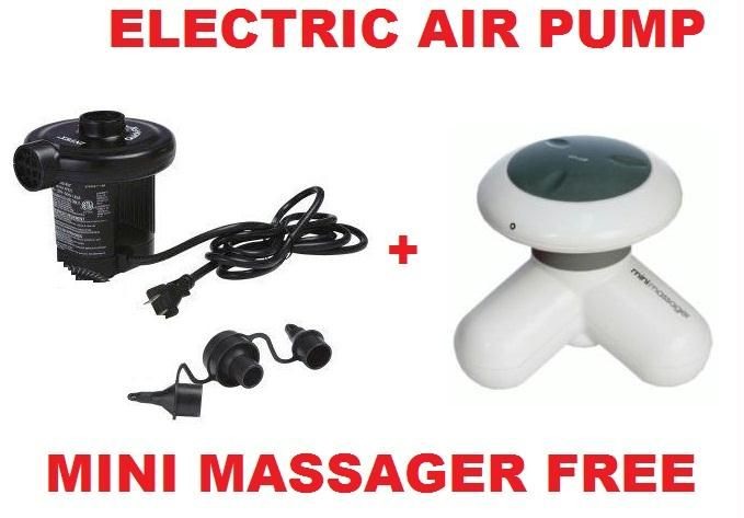 Buy Combo Offer Electric Air Pump + Mini Massager Price and Features.Shop Combo Offer Electric Air Pump + Mini Massager Online.