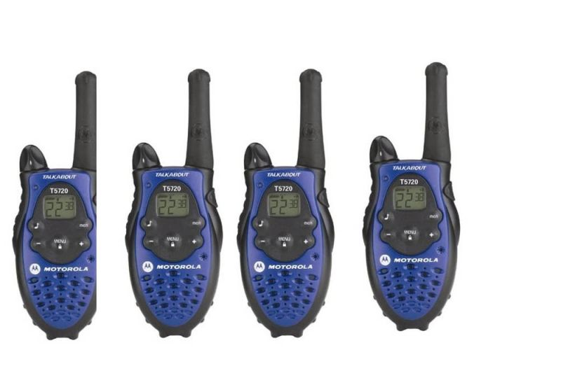 Buy Motorola 5 Miles 4-way Walkie Talkie (all 4 Sets Caliberated) online