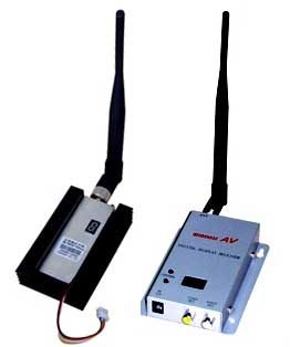 Buy 15 Channel Wireless Video Transmitter For Cctv , Camcorder-200 Metres Range online