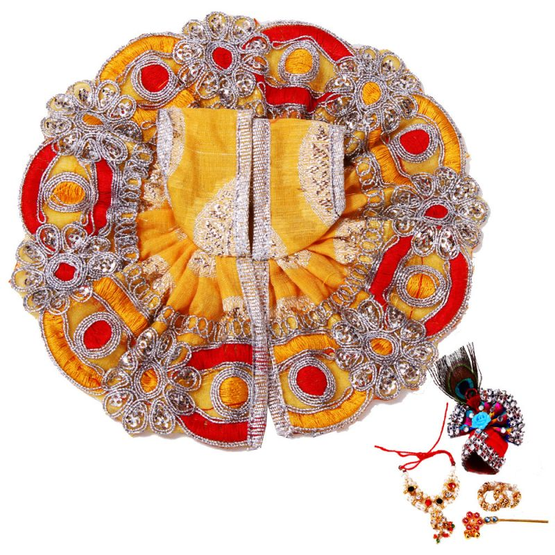 Buy Creativity Centre Ladoo Gopal Dress N Sringar online