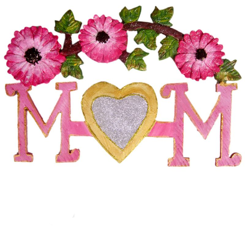 Buy Best Mom Wooden Ply Wall Hanging online