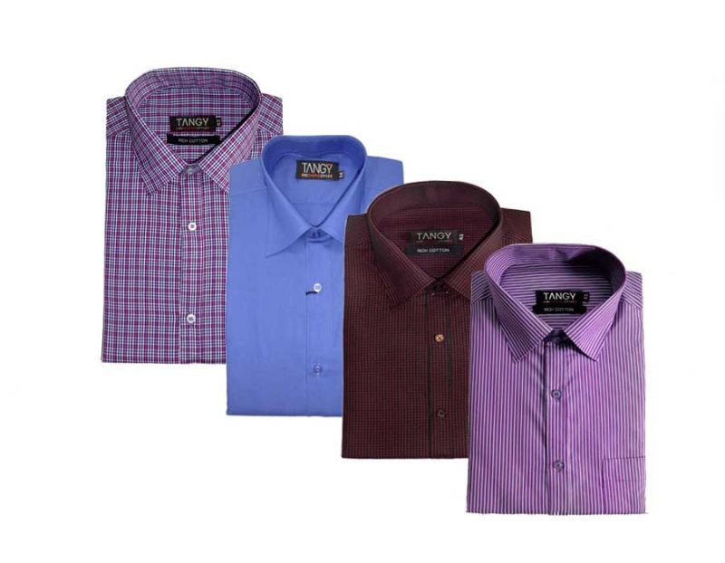 Buy Pack Of 4 Formal Shirts online
