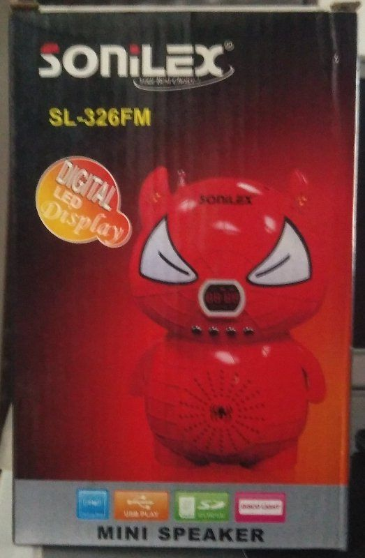 Buy Attractive Doll Shaped Rechargeable FM Radio With Sd,usb Slots & Disco Light online