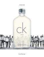 Buy Ck One Perfume For Men & Women By Calvin Klein online