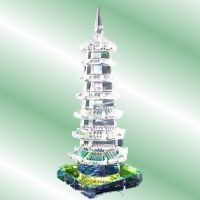 Buy Anjalika Feng Shui Crystal Education Tower online