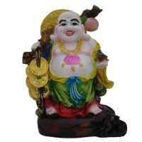 Buy Divya Mantra Feng Shui Premium 9 Inches Laughing Buddha online