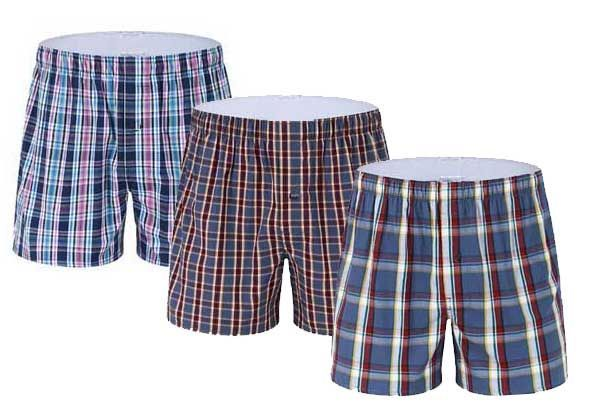 Buy Pack Of 3 Boxer Shorts For Mens online