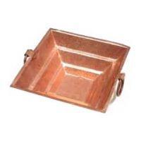 Buy Copper Havan Kund Size 12x12x5 Cm online