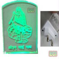 Buy Lord Om Sai Ram, God Shirdi Sai Baba Lighted Idol online
