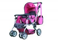 Buy Mommy & Me Twin Doll Pram Back To Back With online