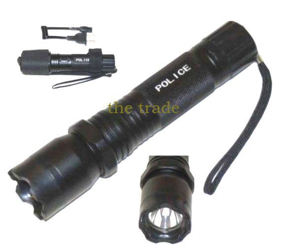 Buy Women Self Defense Stun Gun Rechargeble With Shock Torch (police Brand) online