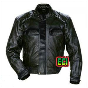 Buy Eci - Premium Cimmaron Leather Bikers Jacket - Black online