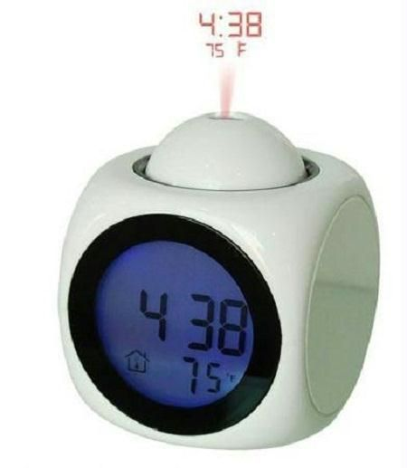 Buy Digital LED Talking Projection Clock With Alarm online