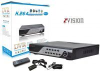 Buy Zvision 4 Channel Dvr With Hdmi Port, 4 Audio, Remote Controller, Cloud online