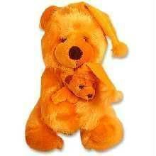 Buy Cuddled Mother & Child Teddy Soft Toy online