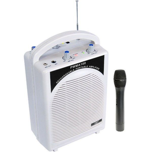 Buy Portable Wireless Rechargeable P A System With Built In Amplifier,speaker & Usb,mp3 Player online