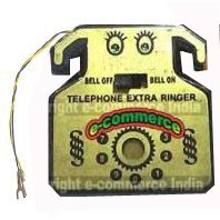 Buy Eci Loud External Ringer For Landline Telephone, Phone Bell Ring Amplifier online