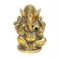Buy Golden Metal Ganesha online