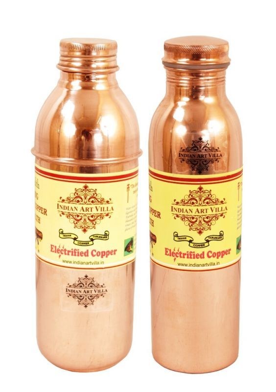 Buy Pure Copper Water Bottle 700 Ml online