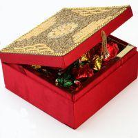 Buy Chocolates-red Designer Chocolate Box online
