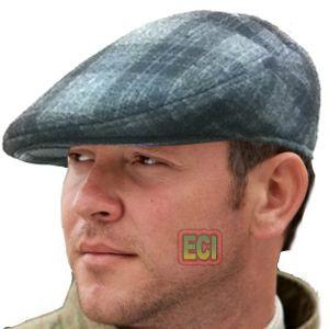 Buy Eci - Gents Flat Cap English Men Golf Hat Bunnet Bonnet Beret Cabbie online