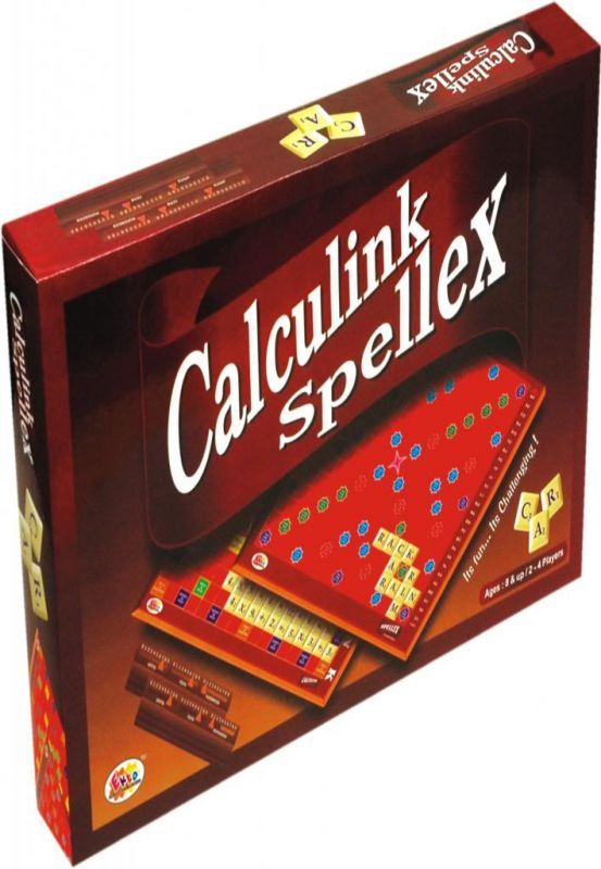 Buy Calculink Spellex Board Game Family Game online