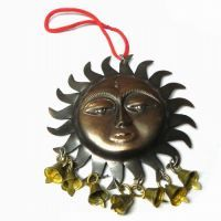 Buy New Attractive Sun Face Sign For Good Luck online
