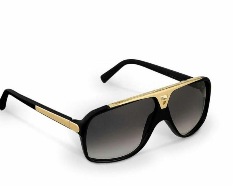 Buy Rc Fashion Imported Gold And Black Stylish Designer Sunglasses For Womens (product Code 01003) online