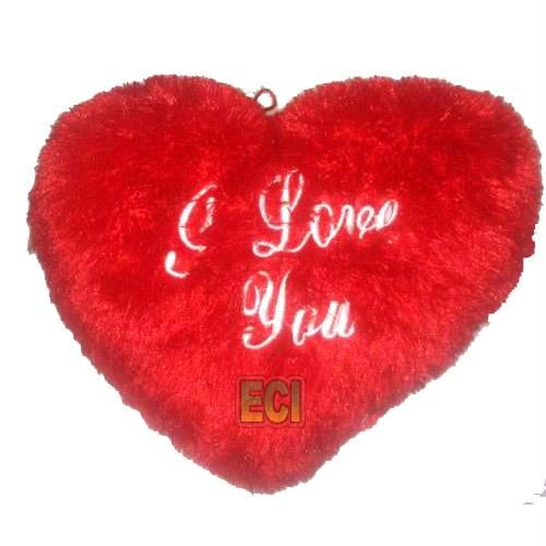 Buy Red Heart Pillow, 14 Inches Big I Love You Cushion online