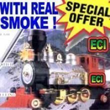 Buy Real Harmless Smoke Emitting Steam Engine online
