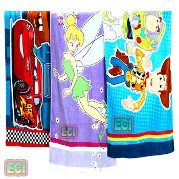 buy 3 premium kids beach towels xxl cartoon cotton babies children