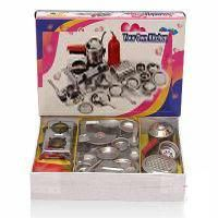 Buy Girls Doll Kitchen Set Cooking Steel Utensils Toys online