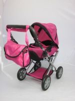 Buy Mommy & Me - 5 In 1 Deluxe Doll Pram With Free online