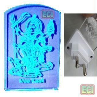 Buy Maa Kali Mata Color Changing LED Light Night Lamp online