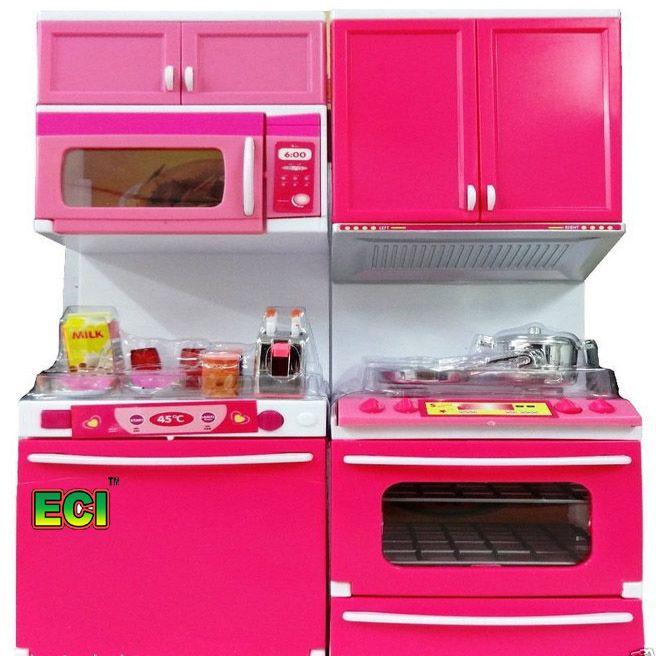 Buy Eci Toy Modular Kitchen Set Microwave Oven Fridge Dishwasher
