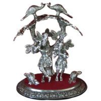 Buy Shree Radhe Krishna Under The Tree, Idol For Gift, Pooja,desk,mandir online