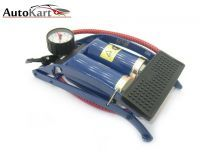Buy Coido Foot Air Pump Compressor 8cm Twin Cylinder For Bike & Car online
