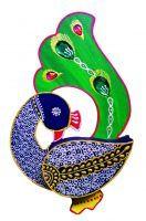 Buy Inditradition Handicraft Dryfruit Box - Mouth Freashner Box Peacock Shape online