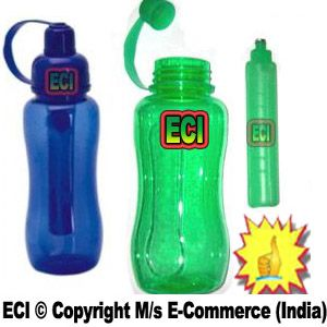Buy Eci - Sports Water Sipper Bottle With Ice Sick Tube Candle Keep Drinks Cool online